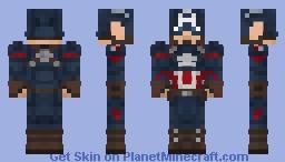 Captain America (Endgame) (1.8) Minecraft Skin