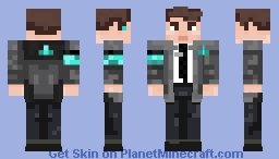 Connor - Detroit: Become Human Minecraft Skin