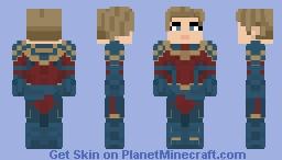 Captain Marvel (2023) - Avengers Endgame Minecraft Skin