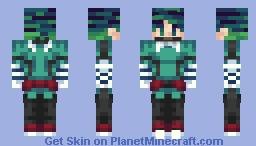 Izuku Midoriya - Deku - Hair color change in desc. Minecraft Skin