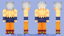 Goku - Ultra Instinct (Mastered) (Top Ripped) Minecraft Skin