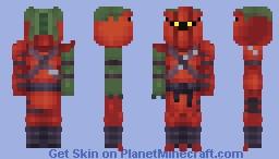 Hybrid Stage 2 (Fortnite) | ~𝘈𝘭𝘺𝘴𝘴𝘢~ Minecraft Skin