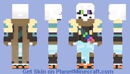 Ink Sans Minecraft Skin