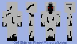 White reaper Minecraft Skin