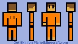 the escapists player Minecraft Skin