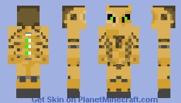 mechanical golem Minecraft Skin