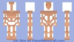 Star Wars Battle Droid Minecraft Skin