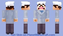 Angelo Ma Che Stronso Canelloni, pizzaiolo Minecraft Skin