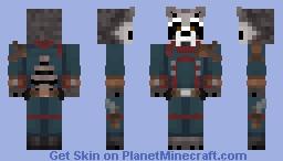 Rocket Raccoon | Avengers: Endgame Minecraft Skin