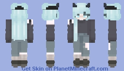 Very lovely girl Minecraft Skin