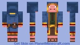 wandering trader pig Minecraft Skin