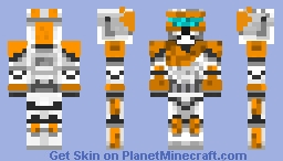 Clone Trooper Gregor (Clone Wars) Minecraft Skin