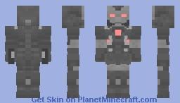 War Machine endgame Minecraft Skin