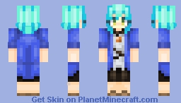 Hina Hikawa from BanG Dream Minecraft Skin