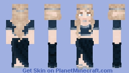 [✔] High Elf Two Piece Outfit Minecraft Skin