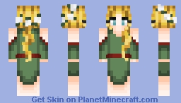 Iðunn Norse Mythology Contest Minecraft Skin