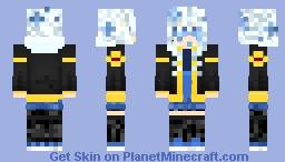 Midnight's Flowerfell Oc Minecraft Skin