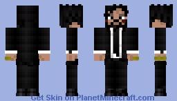 Fortnite : John Wick Minecraft Skin