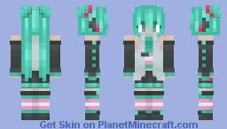 ᴍɪᴋᴜ sᴀɪᴅ ᴛʀᴀɴs ʀɪɢʜᴛs Minecraft Skin