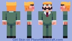 EarthBound - Aloysius Minch Minecraft Skin