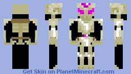 skeletal dark knight Minecraft Skin