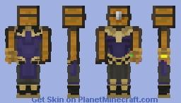 Chest Thanos V2 Minecraft Skin