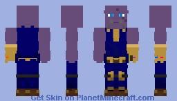 👾Thanos👾 | AVENGERS:💥 End Game 💥 Minecraft Skin