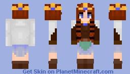 𝐹𝓇𝑒𝓎𝒶 -  【Norse Goddess】 Minecraft Skin