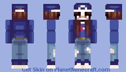 pepsi - human soda Minecraft Skin