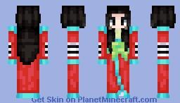 [Ōkami] Princess Fuse Minecraft Skin