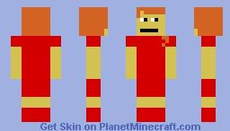 Pretty girl Minecraft Skin