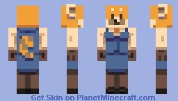 retsuko Minecraft Skin