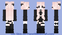 all the things she said Minecraft Skin