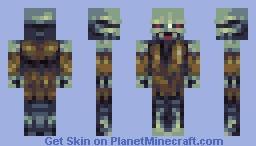 trash zombiman Minecraft Skin