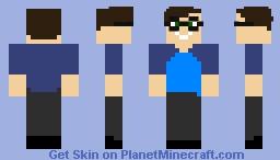 Scott The Woz Minecraft Skin
