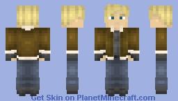Leon S. Kennedy - Resident Evil 4 Minecraft Skin