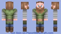 """""""Jeg er sterk! Jeg er hard!"""" / Viking Man Minecraft Skin"""