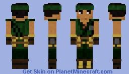 Gray (Fire Emblem Echoes) Minecraft Skin