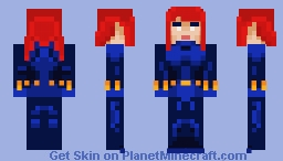 Black Widow [CLASSIC] Minecraft Skin