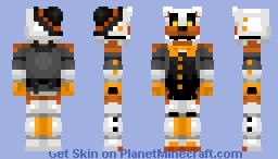 Cake-Bear -Five Nights At Freddy's: Uncanny Valley- Minecraft Skin