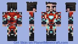 Iron man - mark 50 (Tony Stark) Minecraft Skin