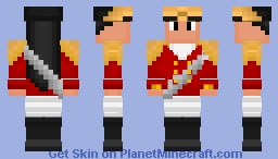 Colonial Soldier --Requested Skin-- Minecraft Skin