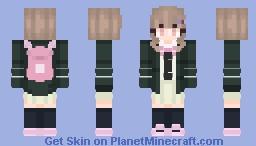 Chiaki Nanami - Danganronpa Minecraft Skin