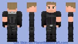 Hawkeye - Civil War Minecraft Skin