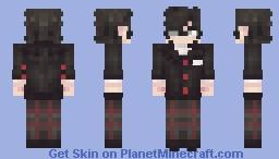 Joker - Persona 5 Minecraft Skin