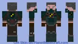 Red stalker Minecraft Skin