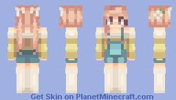 ℓυиαѕσαℓ - Sunshine Overalls Minecraft Skin