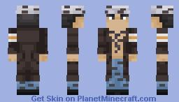 Trafalgar Law Minecraft Skin