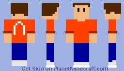 Low Poly Guy Minecraft Skin