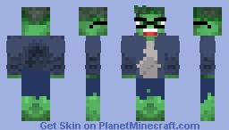🧟♂️Hulk🧟♂️ | AVENGERS: 💥End Game💥 Minecraft Skin